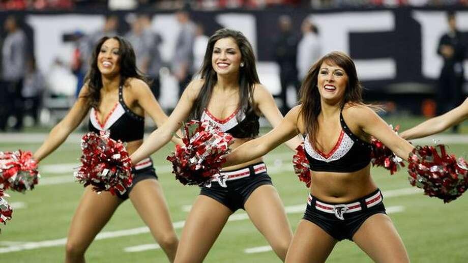 Atlanta Falcons cheerleaders. Photo: Getty Images
