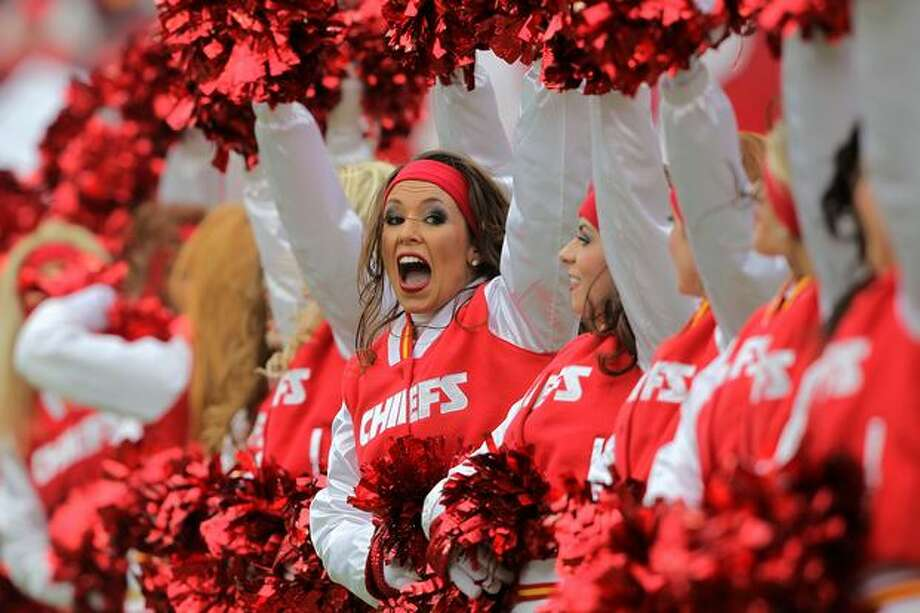 Cheerleaders of the Kansas City Chiefs. Photo: Getty Images