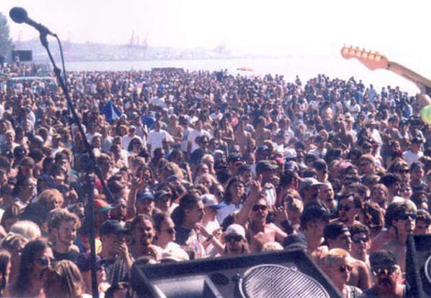 The crowd at Hempfest in 1995. Photo: Seattle Hempfest