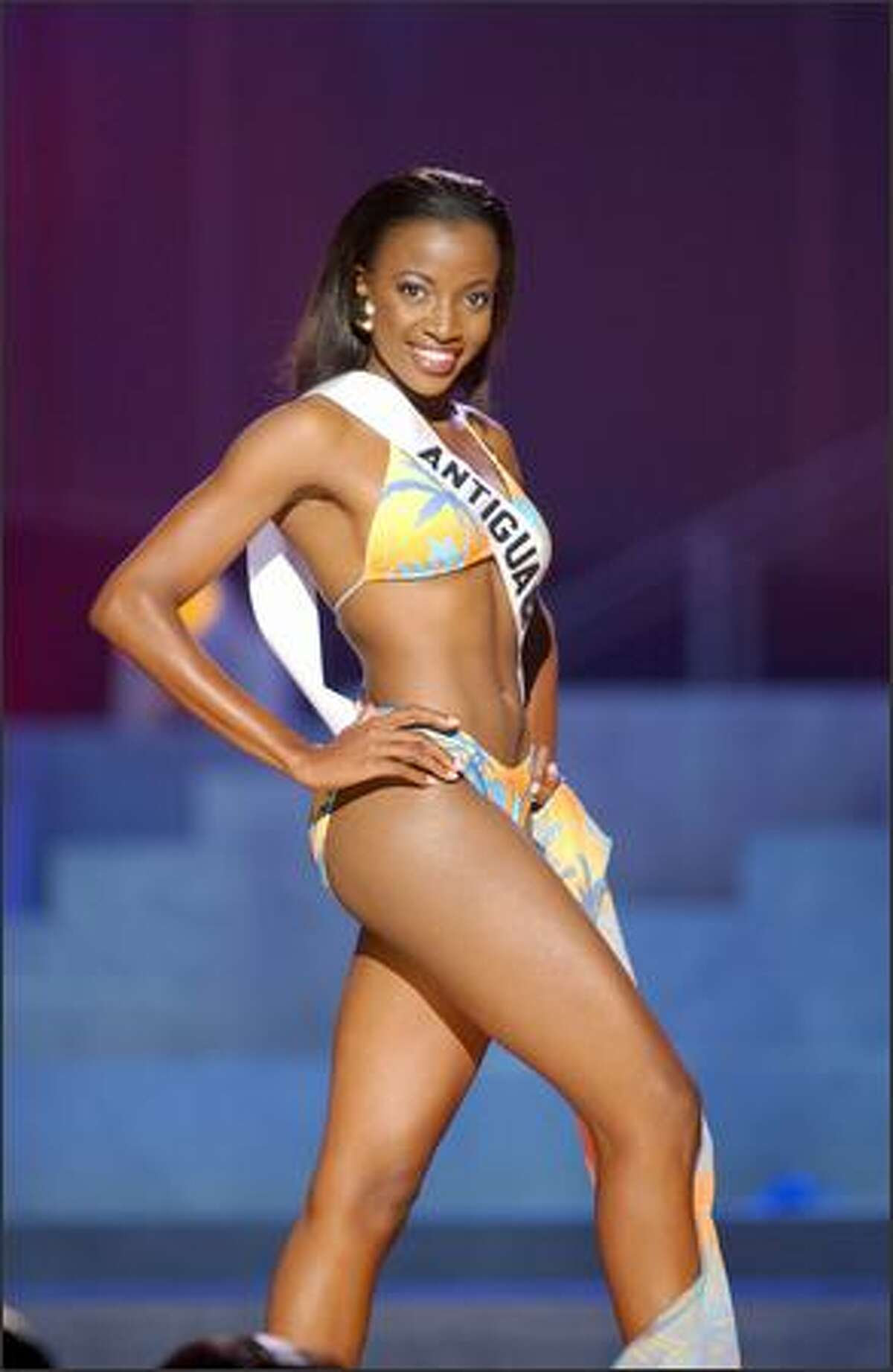 Ann-Marie Browne, Miss Antigua & Barbuda.