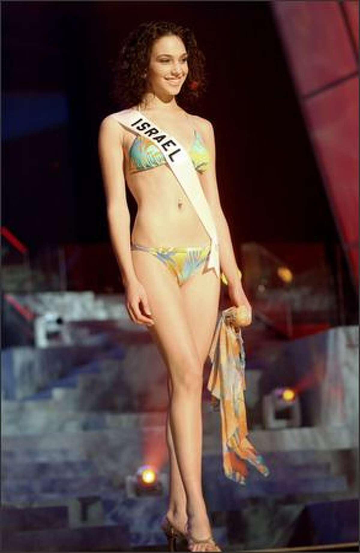 Gal Gadot, Miss Israel.