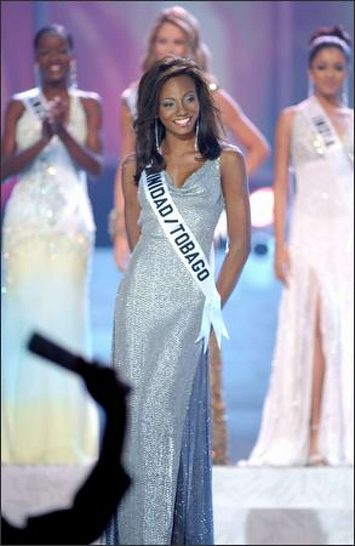 Danielle A. Jones, Miss Trinidad & Tobago.