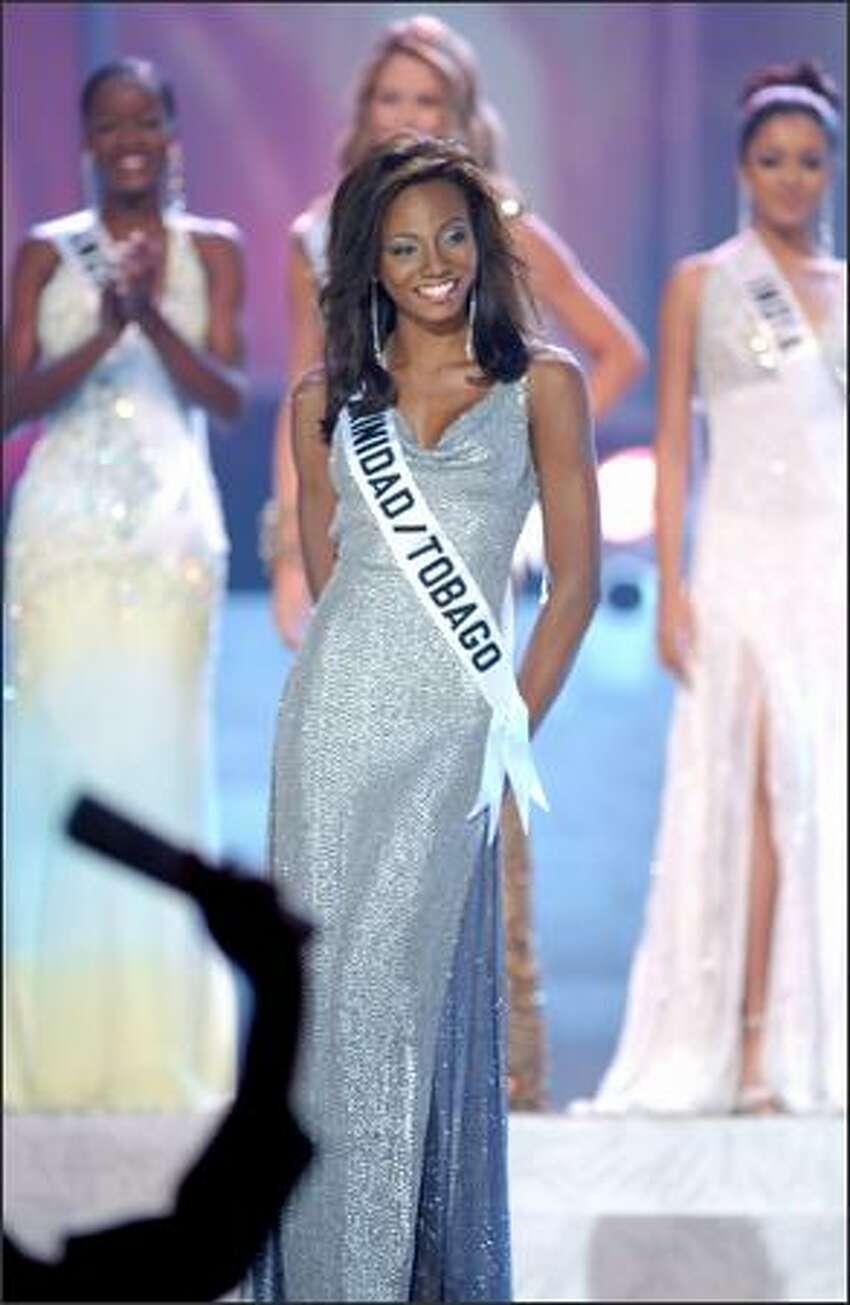 Danielle A. Jones, Miss Trinidad & Tobago.