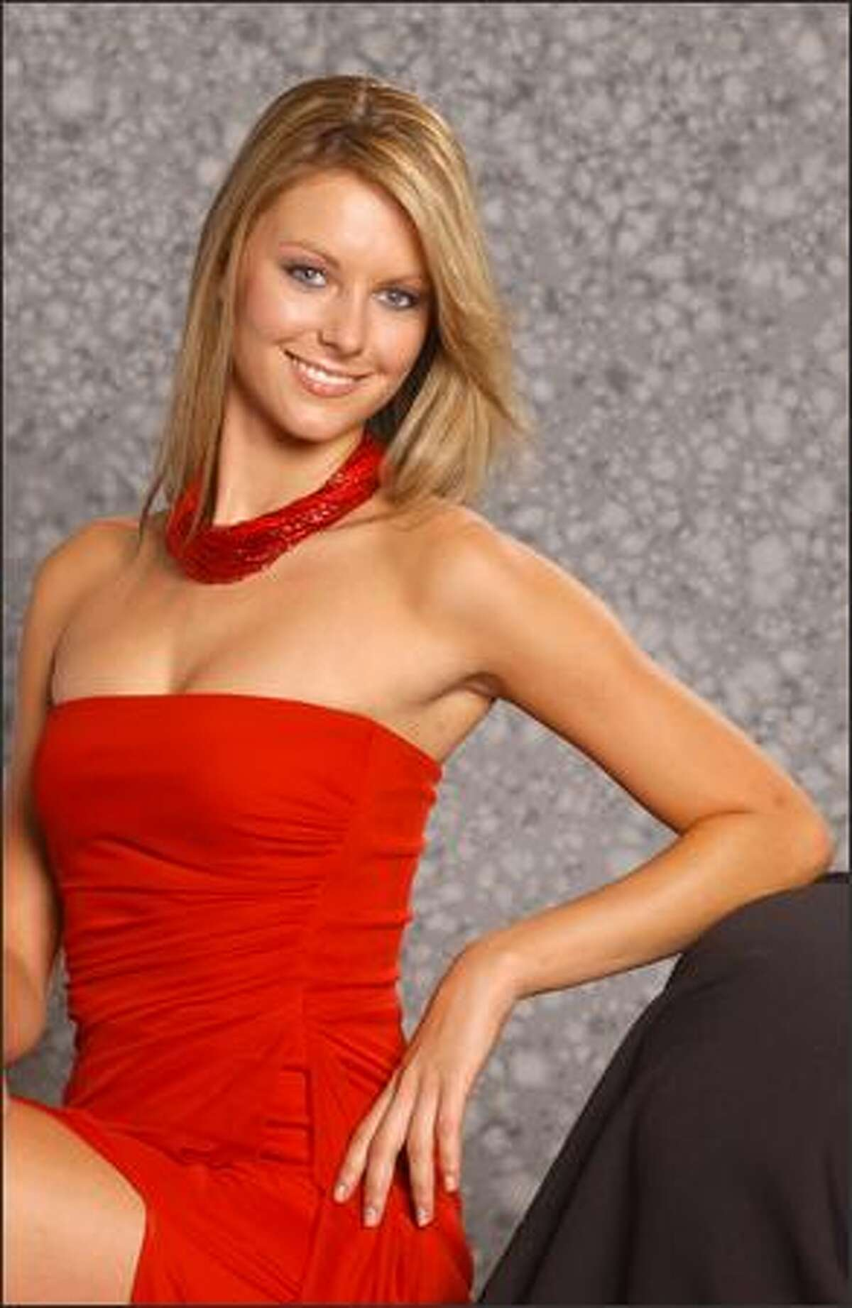 Jennifer Hawkins poses for a portrait on May 14.