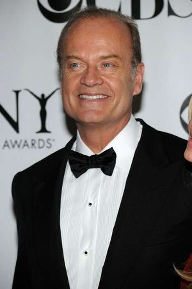 """Frasier"" star Kelsey Grammer warmed up to Romney, telling late-night talk show host Jimmy Kimmel that Romney would ""probably do a pretty good job.""  Photo: Getty Images"