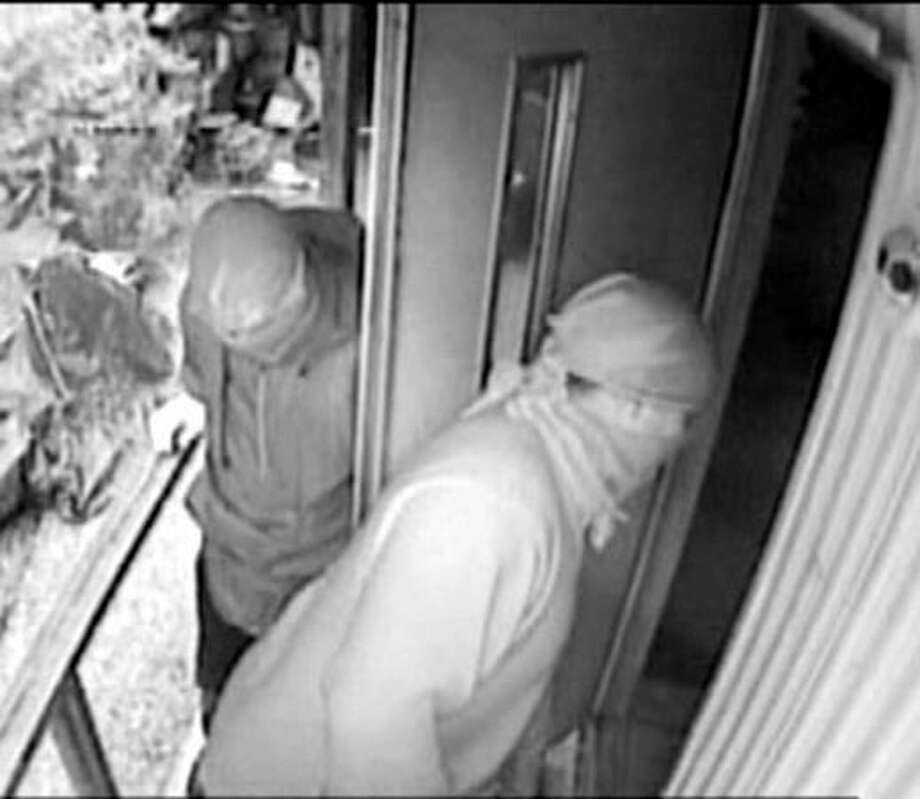A surveillance image from an August 19 Vashon Island home-invasion robbery in the 9400 block of Southwest Gorsuch Road. Read more about the robbery here. Photo: P-I File