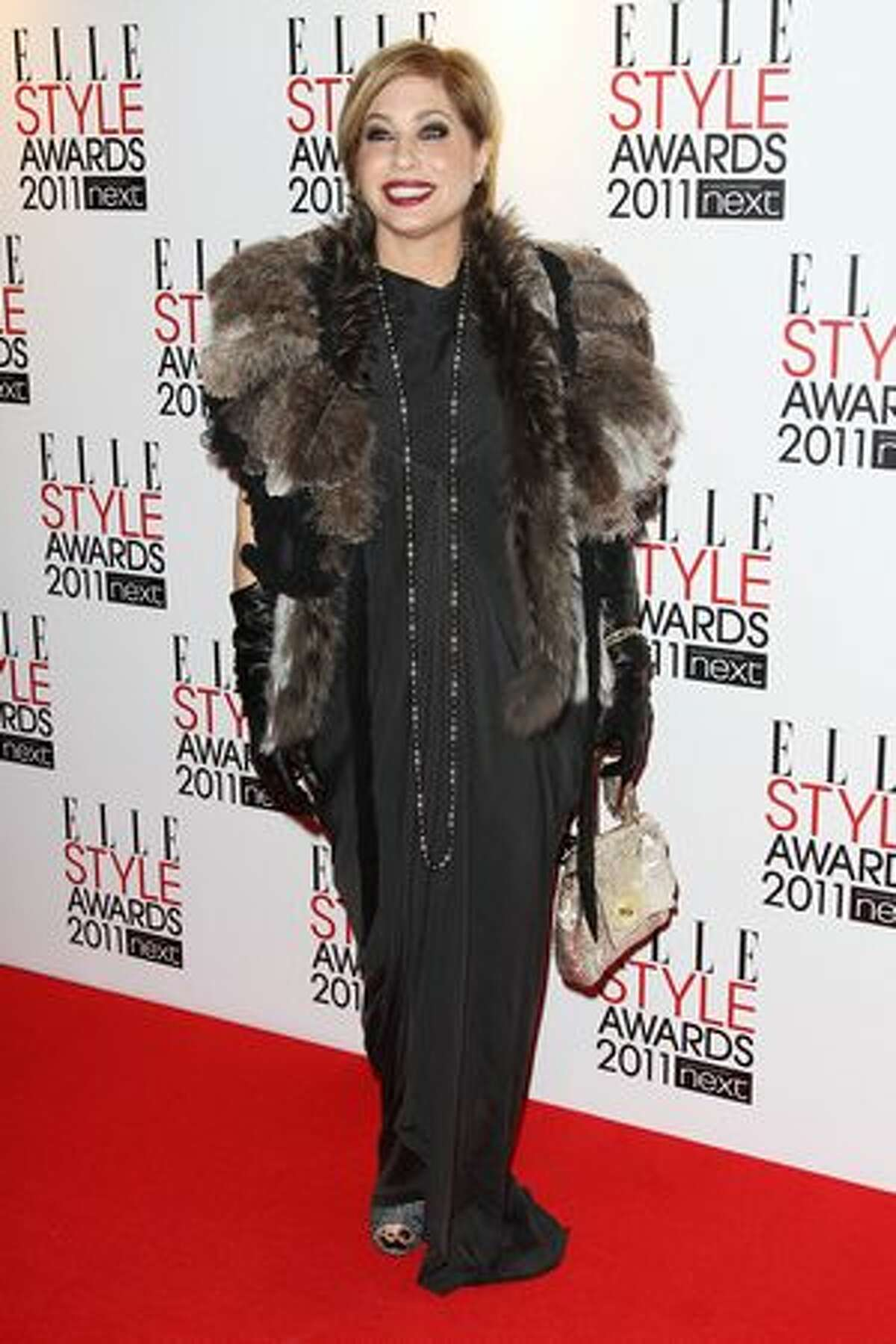 Brix Smith-Start arrives at the ELLE Style Awards 2011 held at The Grand Connaught Rooms in London, England.