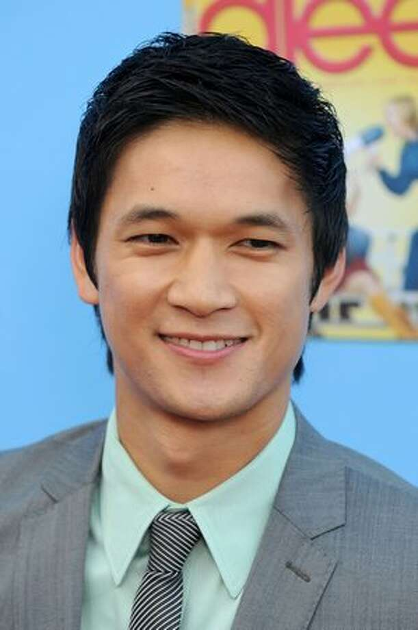 Actor Harry Shum Jr. arrives. Photo: Getty Images