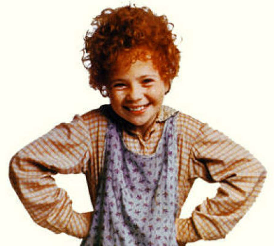 Aileen Quinn, 1982, age 11. The Wizard of Oz; Annie; The Frog Prince.