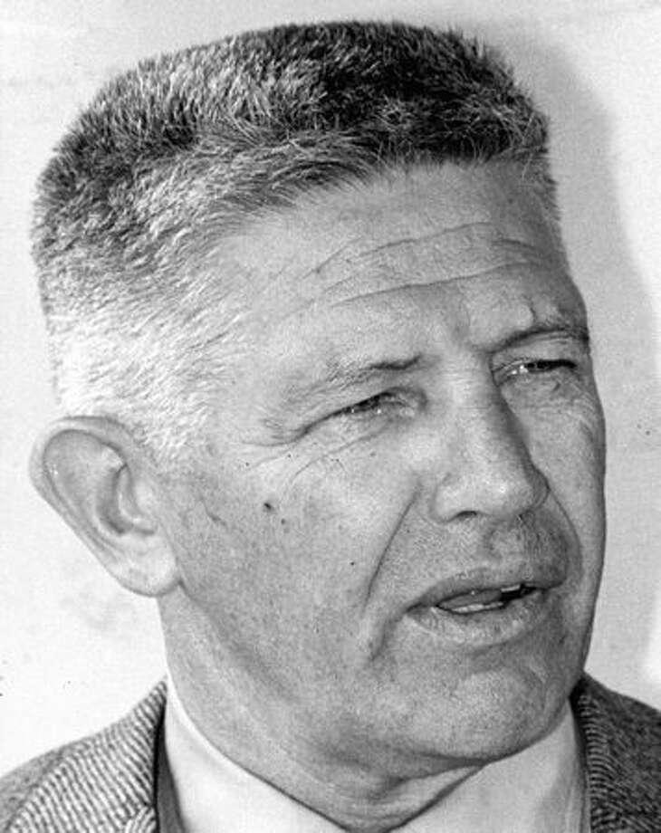 UW basketball coach Marv Harsman in June 1971. Photo: P-I File