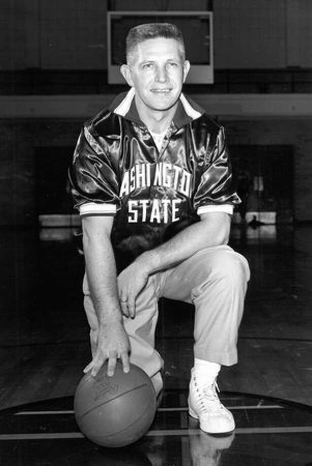 Marv Harshman was the 1985-1986 Washington State University Athletic Hall of Fame inductee. The original caption does not indicate the date of this photograph. Photo: P-I File