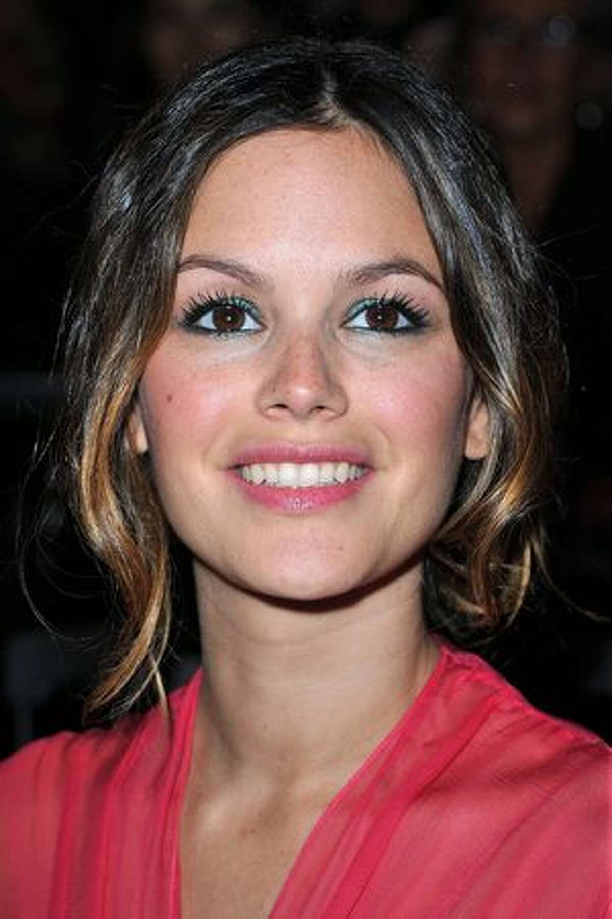Rachel Bilson attends the Christian Dior Ready to Wear Spring/Summer 2011 show during Paris Fashion Week in Paris, France.