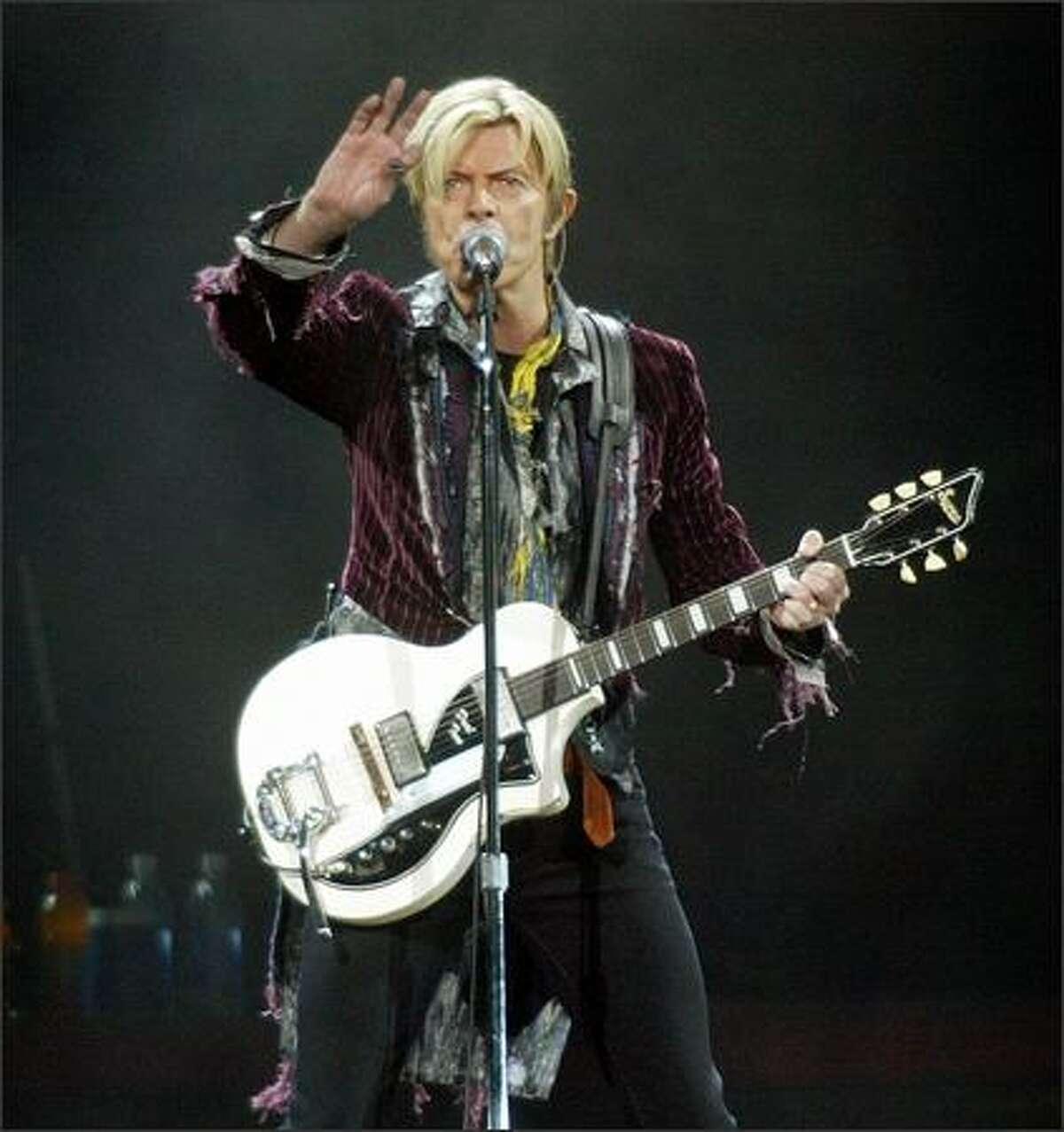 David Bowie at KeyArena