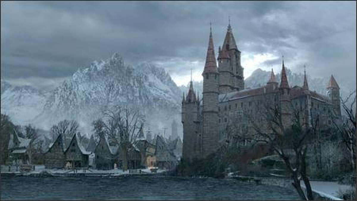 Valerious Manor -- home to Anna, Velkan and the last of their once-powerful family.