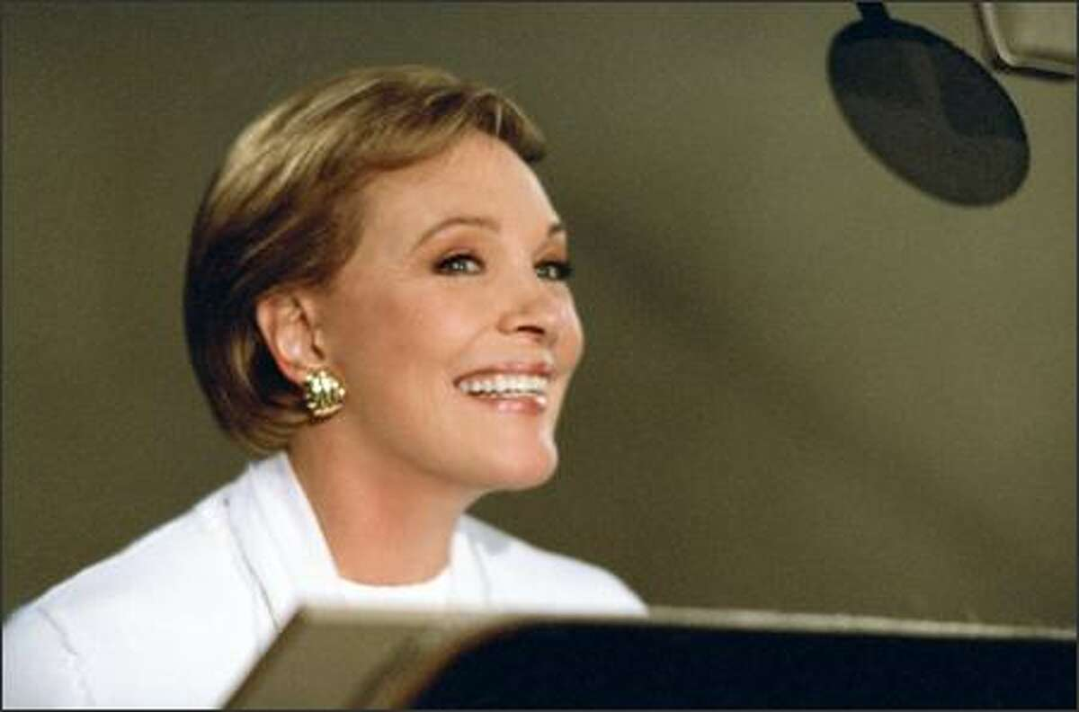 Julie Andrews is the voice of Queen Lillian, Princess Fiona's mother, who has her own reasons for accepting her daughter's choice of a husband.