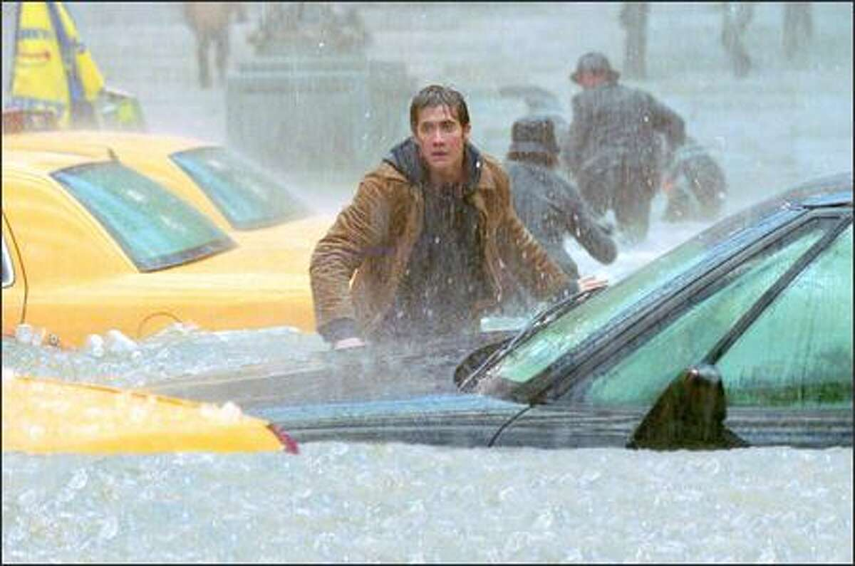 Amidst a horrific flood, Jake Gyllenhaal searches for his friend.