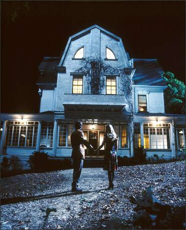 "George and Kathy Lutz (Ryan Reynolds and Melissa George) think they've found their dream house -- but it quickly becomes a nightmare in the remake of ""The Amityville Horror."" Inspired by (allgedly) real-life events, this MGM Pictures film is scheduled for release April 15, 2005."