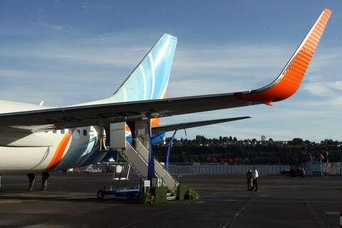 flydubai Boeing 737 with Sky Interior - seattlepi com