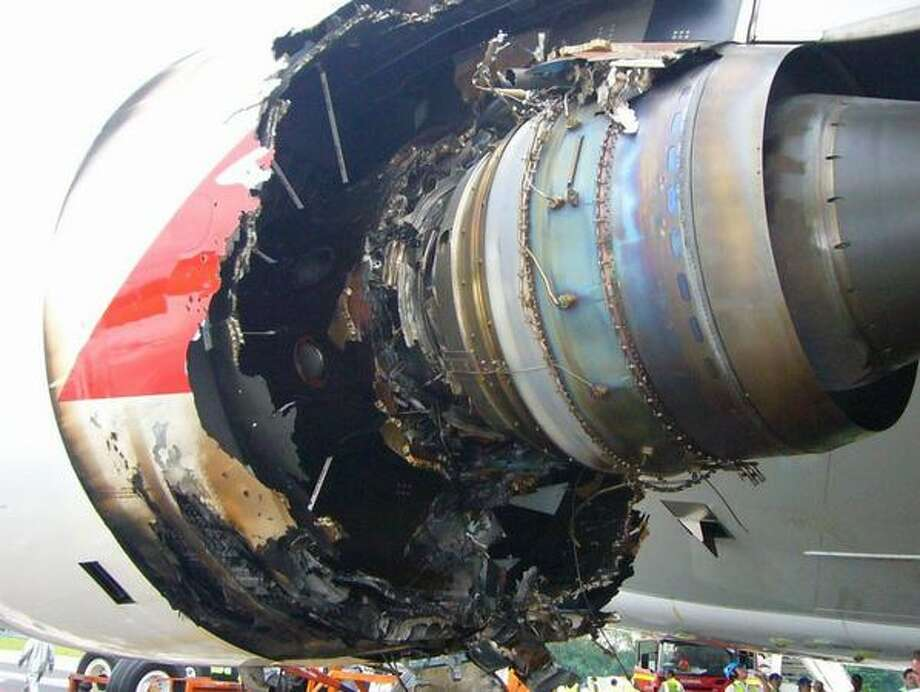 The aircraft's safety was thrown into question on Nov. 4, 2010, when one of the four Rolls-Royce Trent 900 engines on a Qantas A380 blew apart during takeoff from Singapore, shooting flames, ejecting large metal chunks and damaging a wing. The jet returned safely to Singapore, but Qantas grounded its A380 fleet.