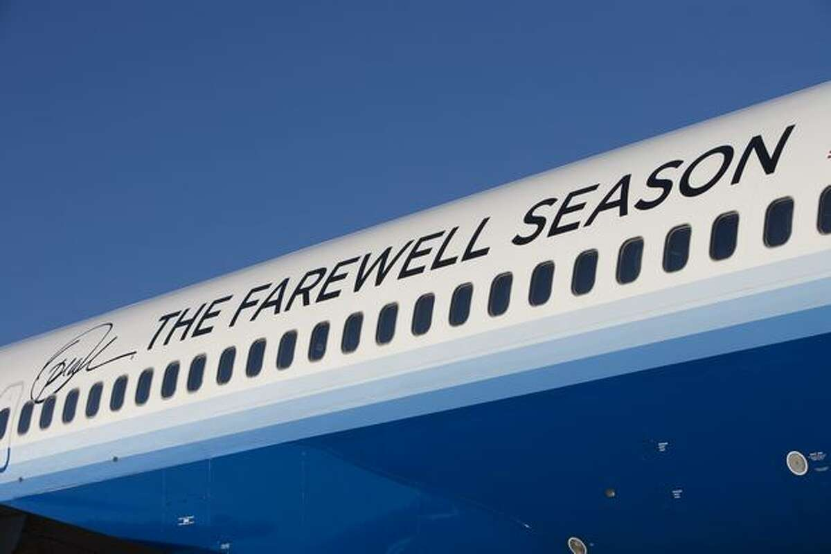 United Airlines' Oprah Winfrey Show Farewell Season Plane, a specially outfitted Boeing 757. (United Airlines/Business Wire)