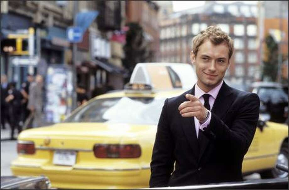"""Alfie"" is the remake of the 1966 film set in England that starred Michael Caine as a womanizer. This updated version is set in New York and stars Jude Law. Photo: Paramount Pictures"