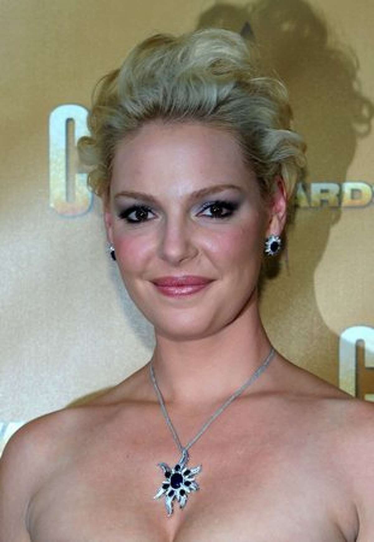 Actress Katherine Heigl attends the 44th Annual CMA Awards at the Bridgestone Arena on Wednesday in Nashville, Tennessee.