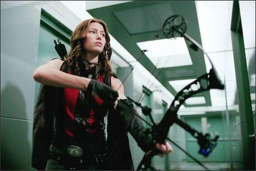 Jessica Biel stars as vampire hunter Abigail Whistler.