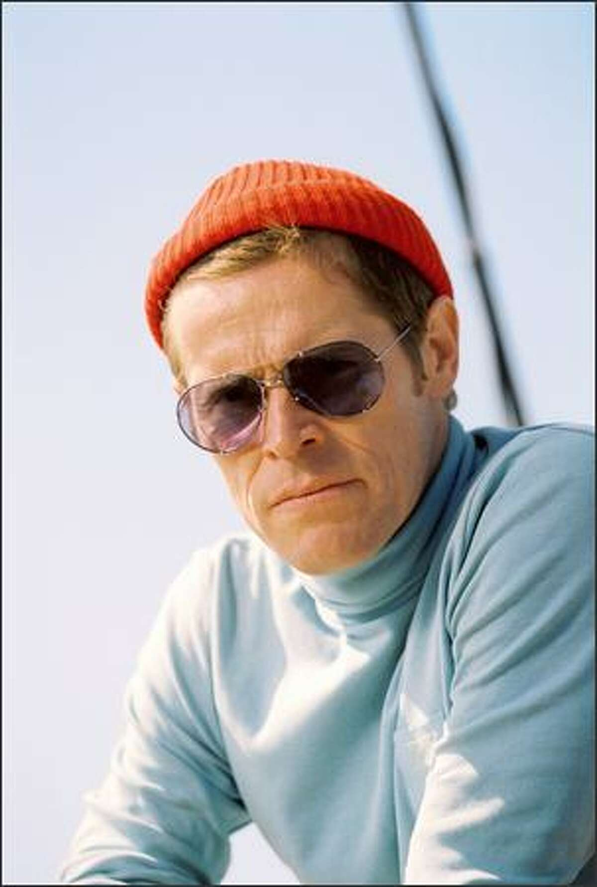 Willem Dafoe plays Klaus Daimler, Steve Zissou's loyal engineer.