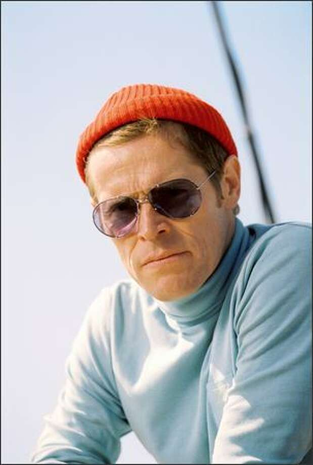 Willem Dafoe plays Klaus Daimler, Steve Zissou's loyal engineer. Photo: Touchstone Pictures