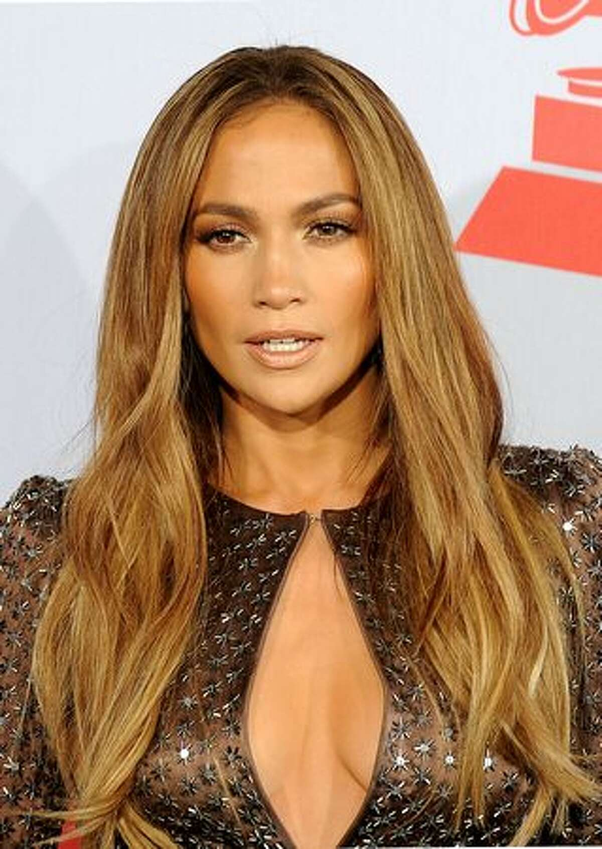 Jennifer Lopez arrives for the 11th Annual Latin Grammy Awards in Las Vegas, Nevada.