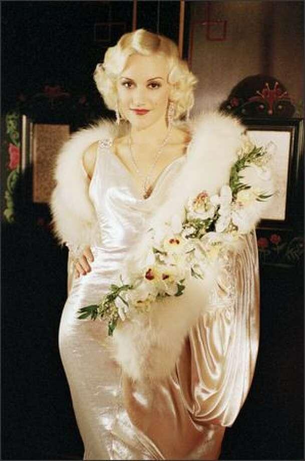 "Gwen Stefani stars as Jean Harlow in ""The Aviator."" Photo: Miramax Films"