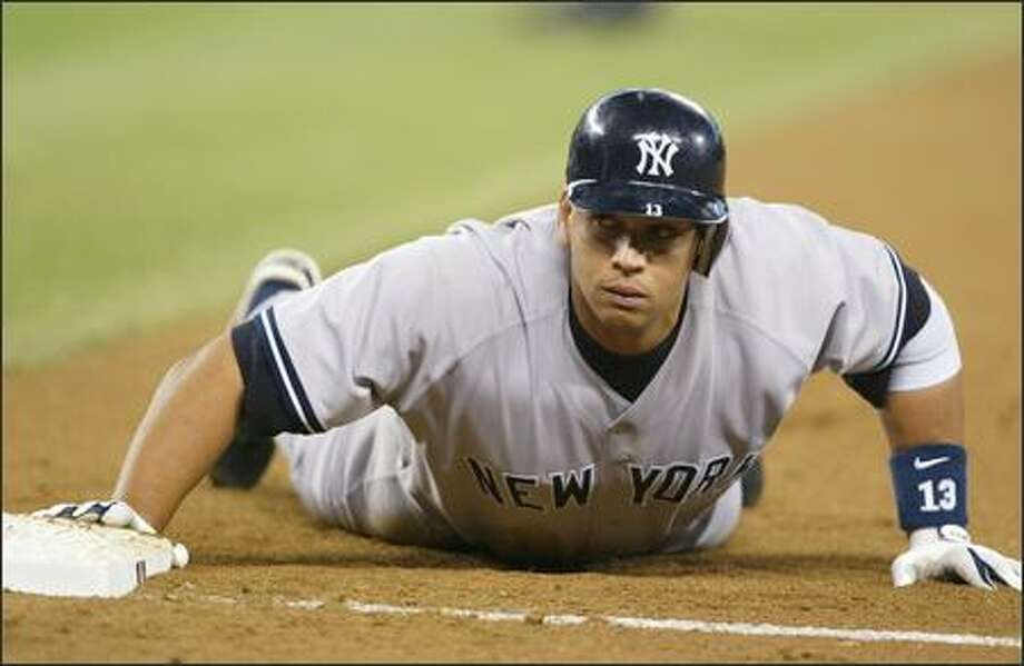 MAY 2-8:A-Rod, Yanks back at Safeco Photo: Scott Eklund, Seattle Post-Intelligencer