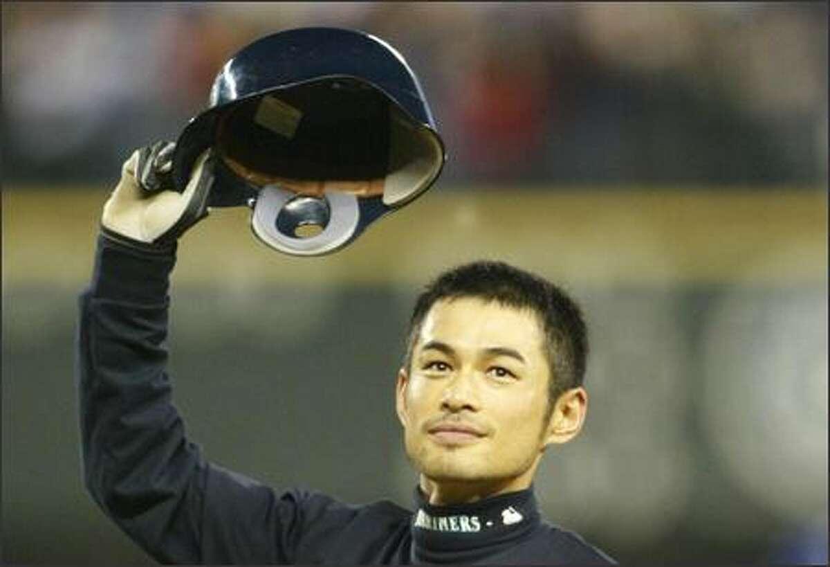 SEPT. 26-OCT. 2: Ichiro eclipses Sisler