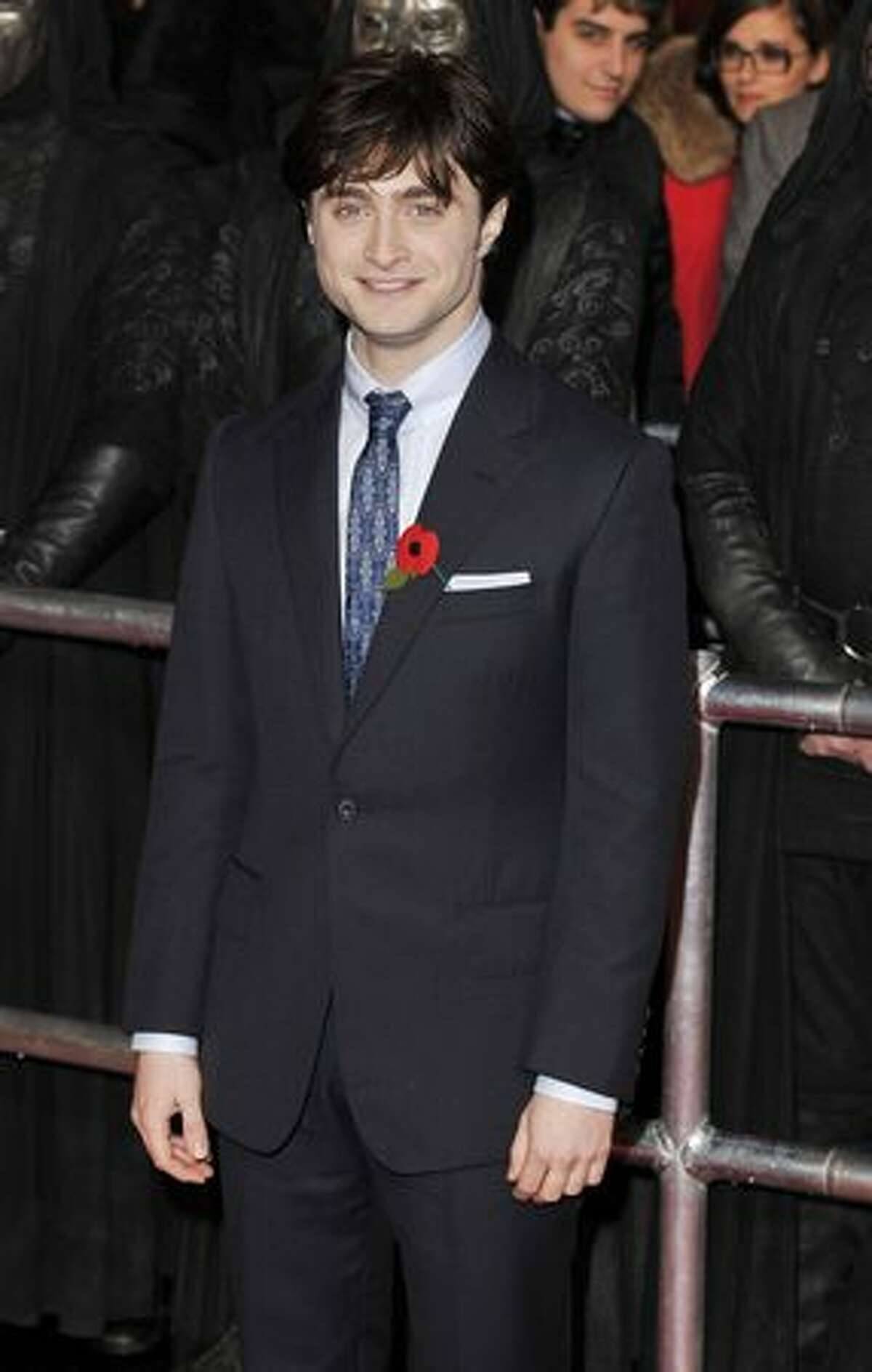 Actor Daniel Radcliffe (Harry) attends the