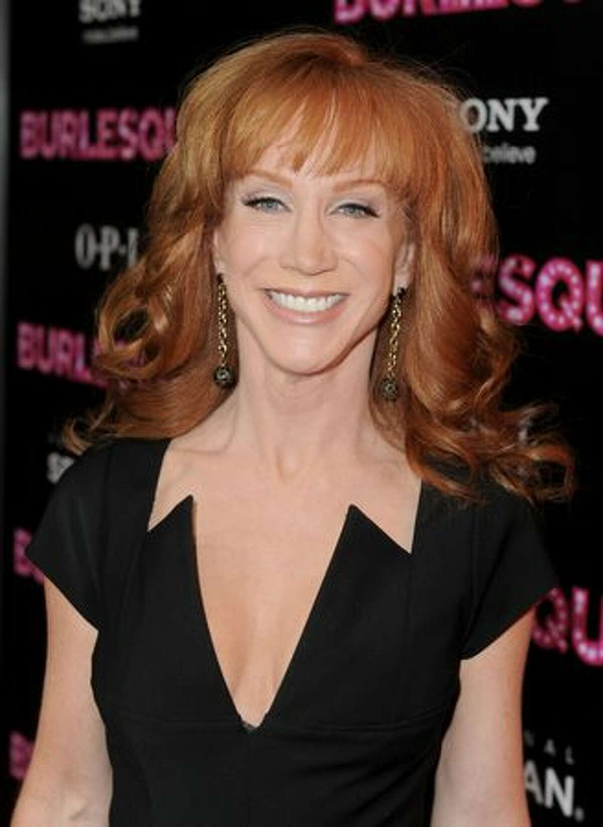 Actress/comedian Kathy Griffin arrives.