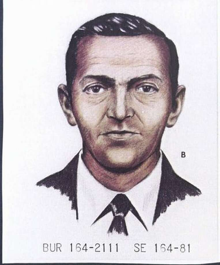A 1981 FBI artist's rendition shows D.B. Cooper as he looked in 1971. (FBI photo/provided by seattlepi.com file) Photo: P-I File
