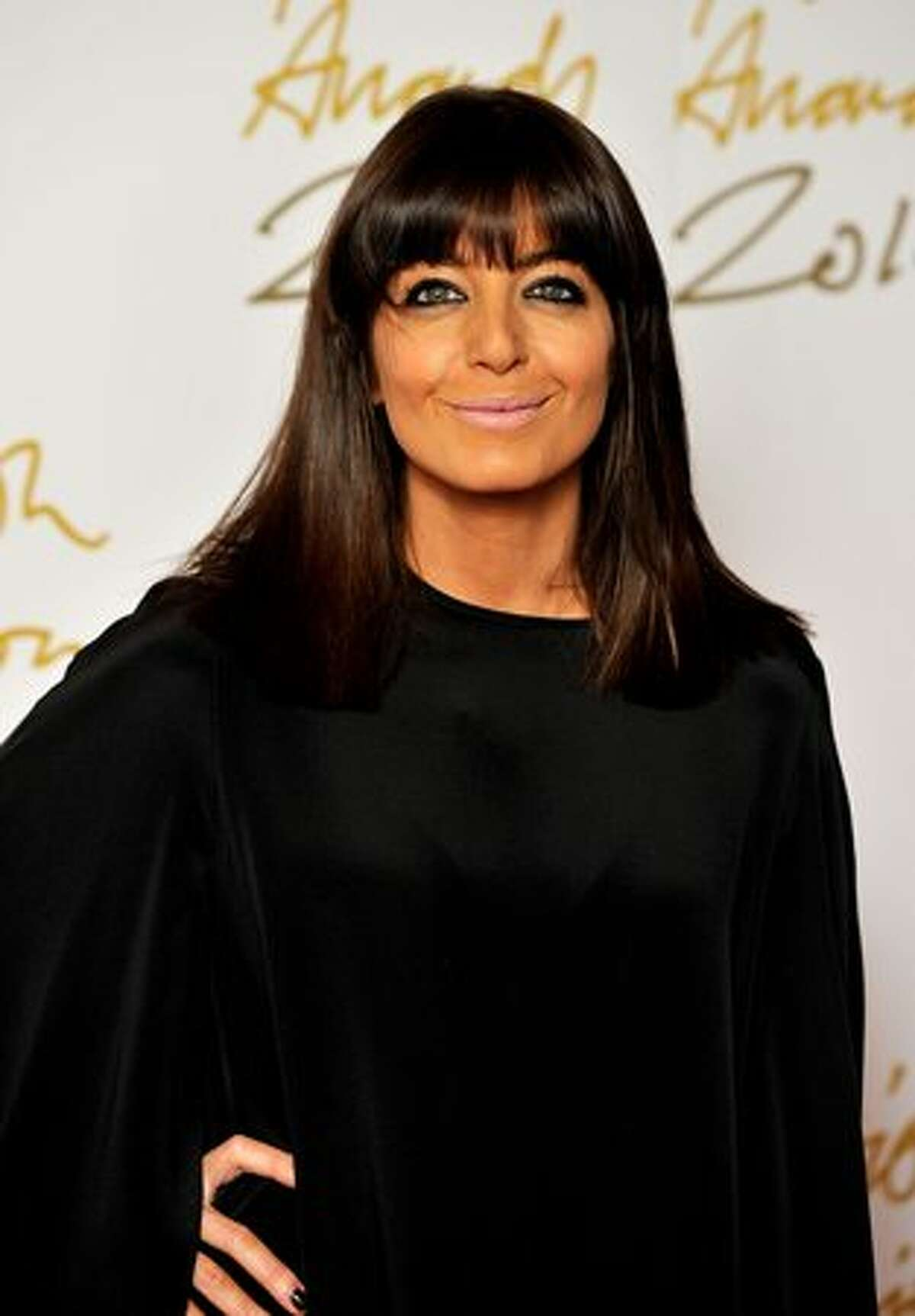 Claudia Winkleman attends the British Fashion Awards at The Savoy in London, England.