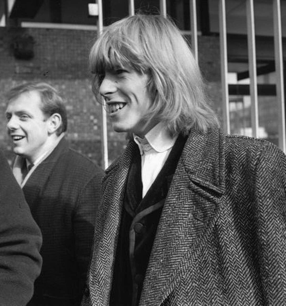 Pop singer David Jones, later to find fame as David Bowie.