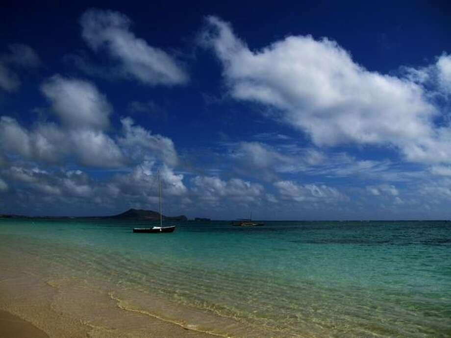 The Lanikai beach in Oahu, Honolulu. Photo: Getty Images