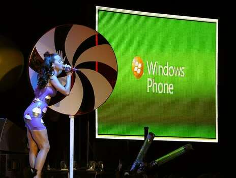 Katy Perry performs a free concert at the at the Roseland Ballroom in New York City on November 8, 2010, to help Microsoft and AT&T launch Windows Phone 7 Photo: Getty Images
