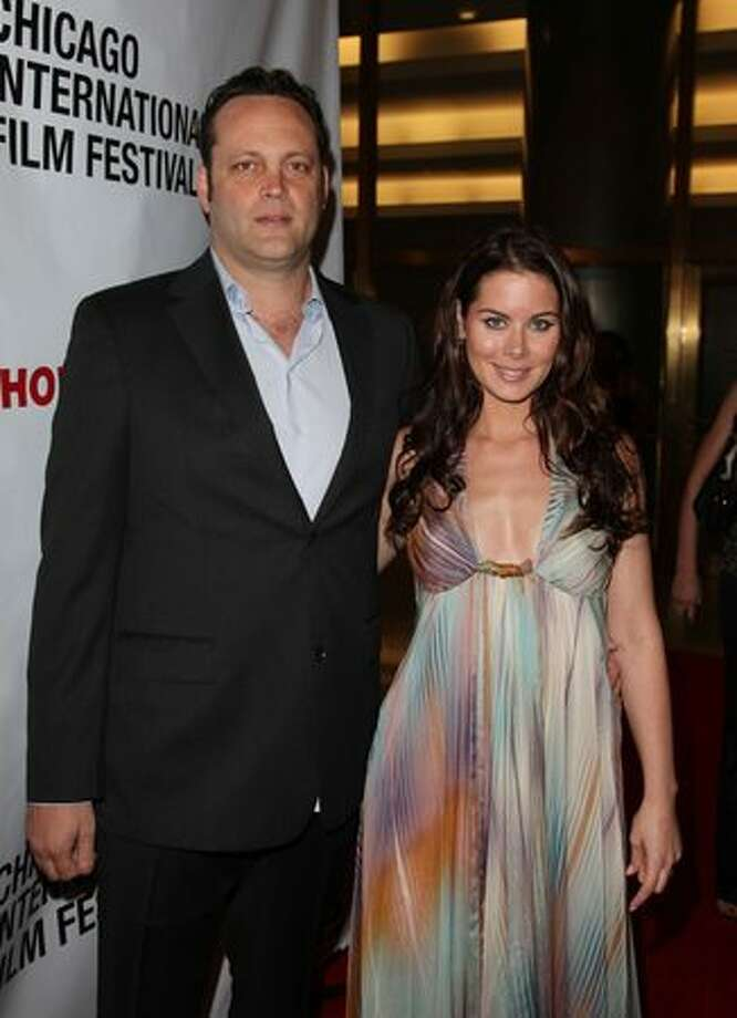 Vince Vaughn and (Kyla Weber): Kid's name: Locklyn Kyla Photo: Getty Images