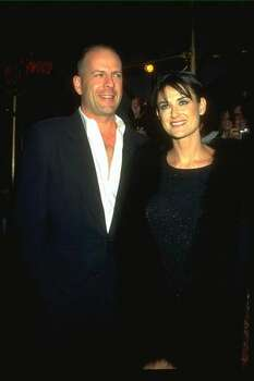 Demi Moore and Bruce Willis: Kids' names: Rumer Glenn, Scout LaRue and Tallulah Belle Photo: Getty Images