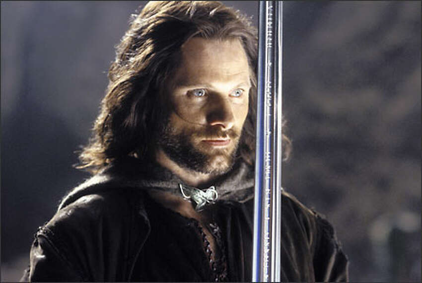 Aragorn (Viggo Mortensen) knows he must face his ultimate test in courage.