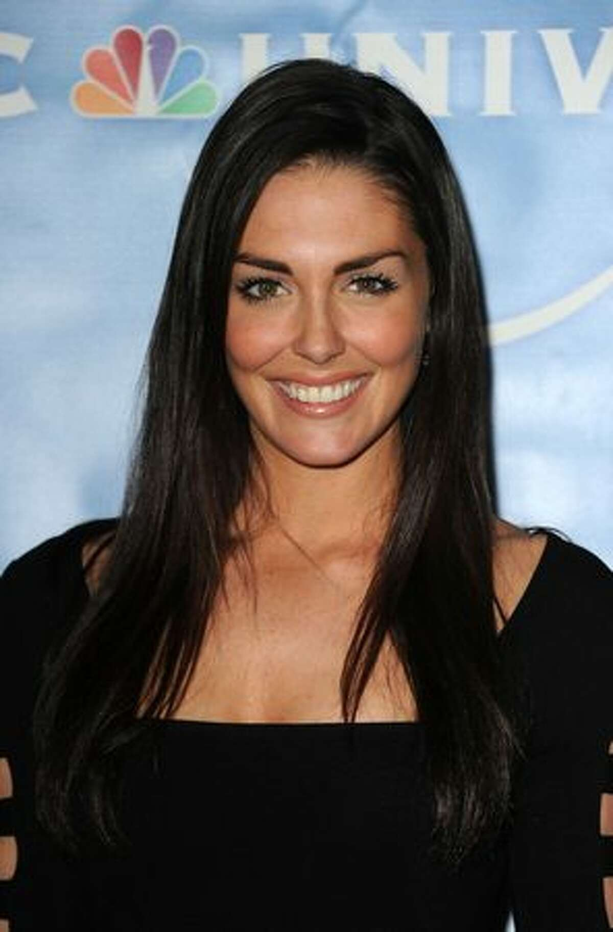 Actress Taylor Cole arrives at the NBC Universal 2011 Winter TCA Press Tour All-Star Party at the Langham Huntington Hotel in Pasadena, California.