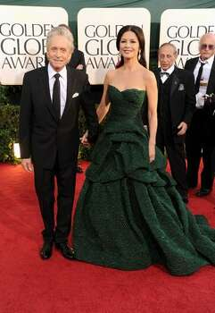 Actor Michael Douglas (left) and actress Catherine Zeta-Jones. Photo: Getty Images