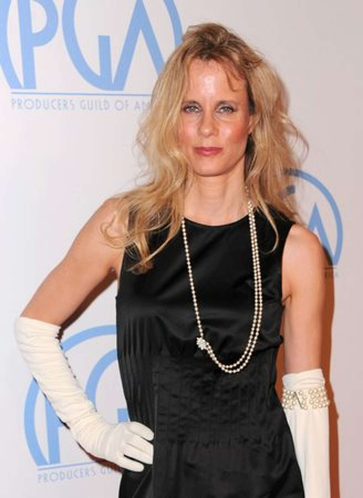 """Actress Lori Singer (""""Footloose"""") arrives at the 22nd annual Producers Guild Awards at The Beverly Hilton hotel in Beverly Hills, Calif., on Saturday, Jan. 22, 2011."""
