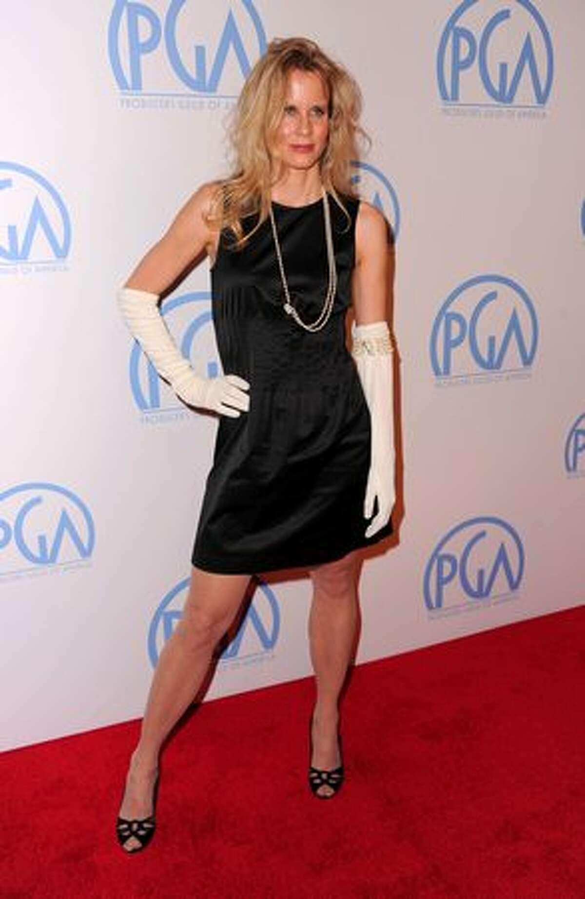 Actress Lori Singer arrives.