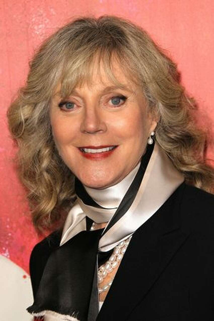 Actress Blythe Danner attends the premiere of