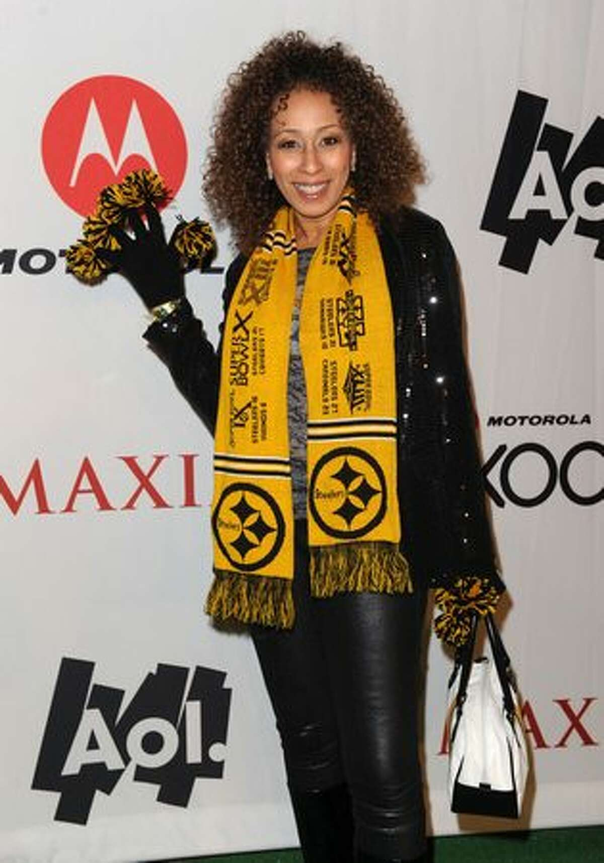 Actress Tamara Tunie attends.