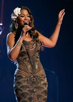 "2007: Beyonce Knowles performs ""Listen."" Photo: Getty Images"